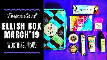 Ellish Box March 2019 @399 | Personalised | Worth Rs. 4500 | Unboxing & Review  Ellish Box March edition has a Makeup product from an International luxury brand - Manna Kadar along with 2 more personalised products, all three being star products in my opinion. The personalised products have options from Brands like Paul Penders, Vert, The nature's co etc which make the box a steal deal at such an affordable price tag of just Rs. 399 including shipping! . . . . Check out the review video on my YouTube channel to know more. Link in bio. 💕 . . To Order : Website : http://ellish.in/ Instagram DM : https://www.instagram.com/_ellish__/ Price : Rs. 399 (Free Shipping) . . . . #ellish #ellishbox #march #mannakadar #international #luxury #exclusive #personalised #2019 #beautybox #affordable  #beautysubscription #skincare   #makeup #natural #glowingskin #naturalskincare #unboxingandreview #youtuber #subscriptionboxindia #subscriptionboxreview #sonameraki  #honestreviews #sonammahapatra