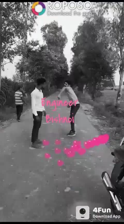 #engineer  #bishnoi #roposo #stunt #withfriends #bishnoism #jigar #wala #yaar