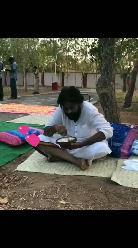 Pawan Kalyan 😍 @janasenaparty #pawankalyan #janasenaporatayatra