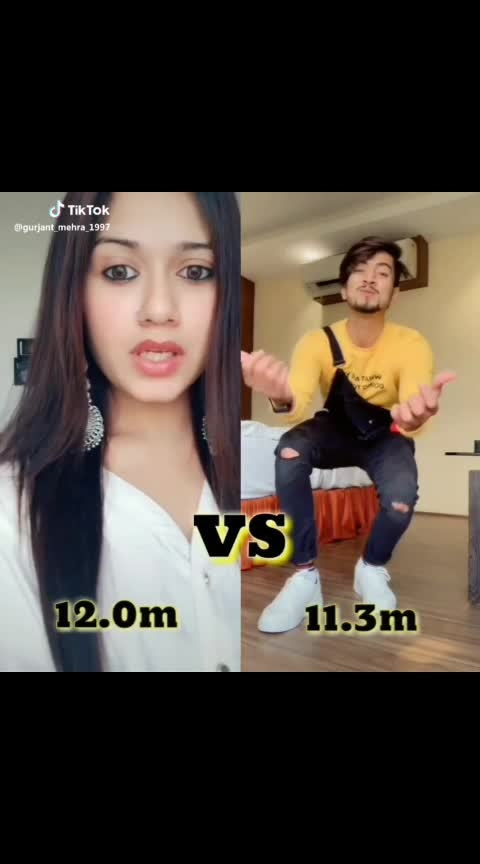 Tiktok famous king and queen Mr.faisu 07 vs  jannat zubbair. #trendingtopic #trend-alert