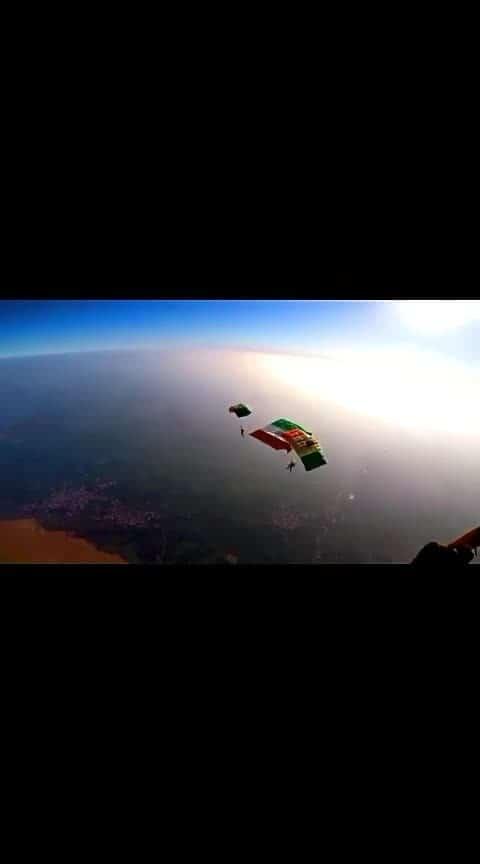 #jai_hind #indianairforce #skydiving_