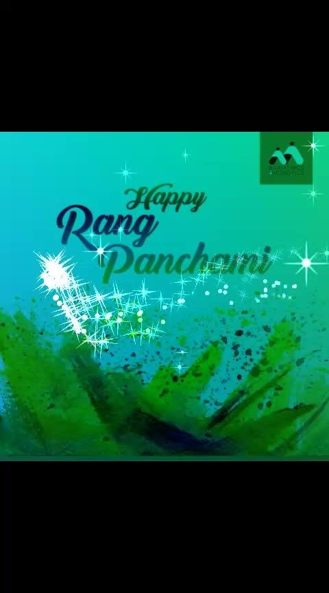 Happy Rangpanchami #rangpanchmi #holifestival #ropofestival