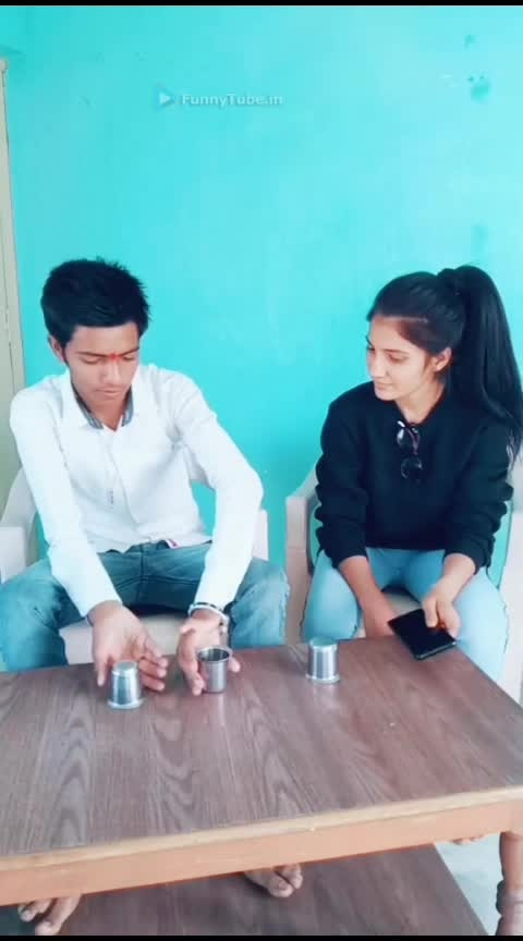 #funnyvideos  #mind  #tricks  #roposo-creative  #roposoness   #channel