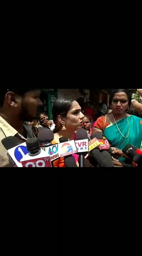 Transgender Tamanna Contesting against Nara Lokesh.