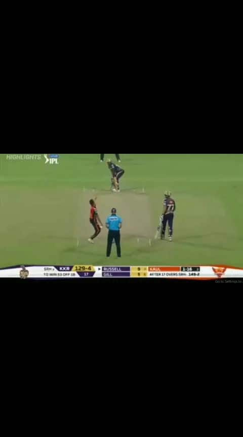 #andre_russel #ultimate batting #49 runs in just 19 balls #kkrvsrh #ipl2019