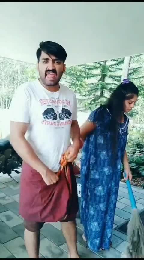 Chaya tanneya chodiche😂 #mallu #malayalamcomedy #mallucomedy #mallucouple #mallus #comedy #husbandandwife