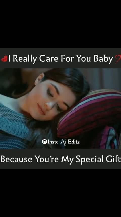 I really care for u