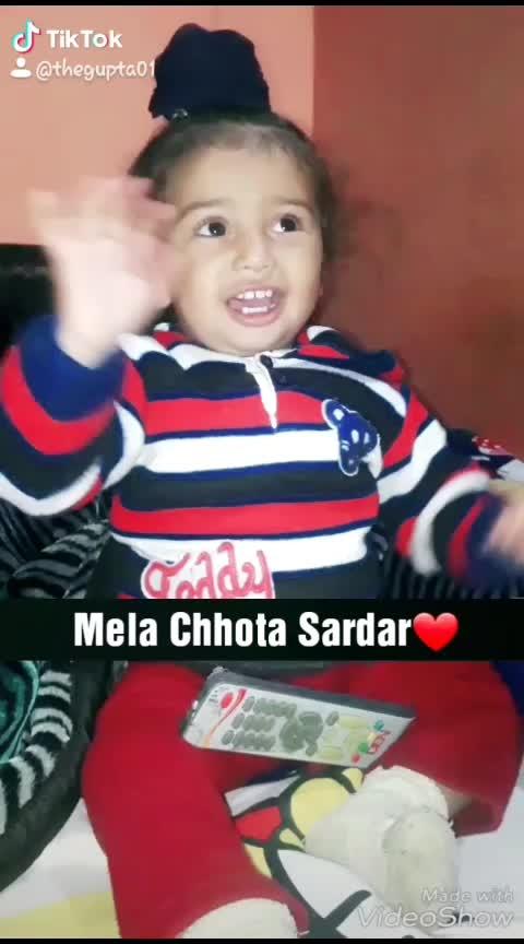 follow me 😘 #punjabi #song #sadar #cute #punjabi #munda #look #acting #baby