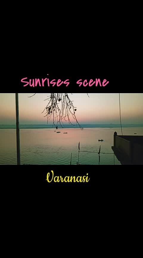best moments of click pic of sunrise 😎😎😎(Varanasi, India)   #har-har-mahadev 🙏🙏🙏#photosessions  ,#roposo-photos  ,#look ,#wao ,#beats ,#filmistaan ,#sunriselovers