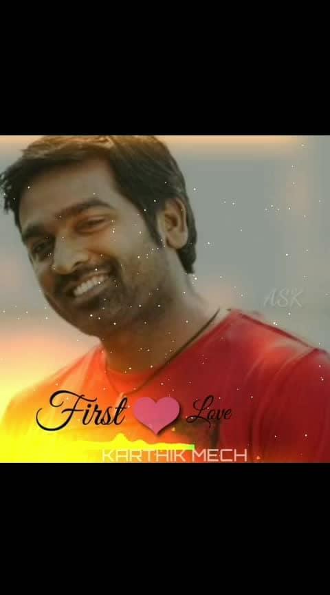 #VijaySethupathy #speeh #about #First #love #feeling #Tamil #whatsapp #status #karthikmech