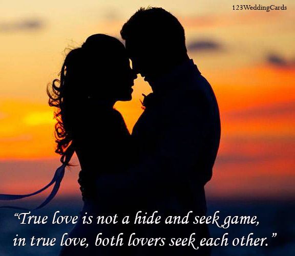 """True love is not a hide and seek game in true love, both lovers seek each other.""  #TrueLove #Lovers #LoveQuotes #Couple #Love #CoupleGoal #Girls #RomanticLove"