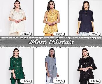 Short kurta's!  https://bit.ly/2U0137W#9rasa   #colors #studiorasa #ethnicwear #ethniclook #fusionfashion #online #fashion #like #comment #share #followus #like4like #likeforcomment #like4comment #newarrivals #ss19collection #ss19 #short #shortkurta #kurta