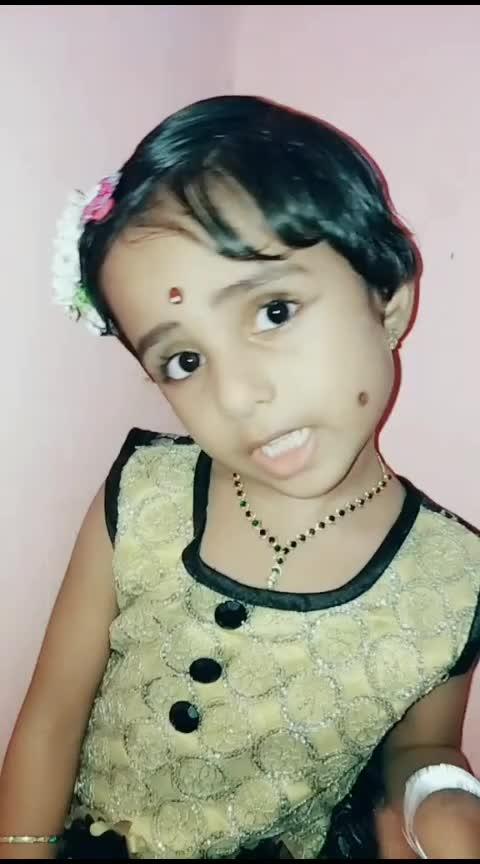 """""""njan povada💘"""" #risingstar #roposostars #malayalam #babyshalini"""