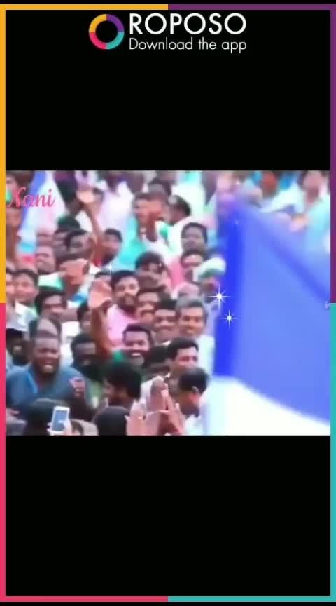 he is a leader #jaganmohanreddy