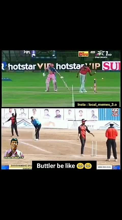 #yesterday #scenario #ashwin #buttler #funny #roposo-funny