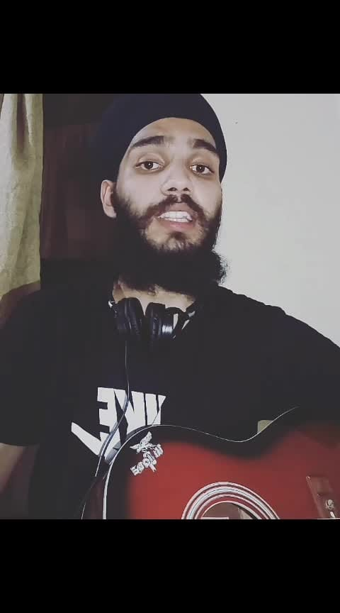 HAAYE OYEE. #ashking @theparassethi @anshikagrover @roposotalks @roposocontests #bollywood #guitar #cover #unpluggedversion #unplugged