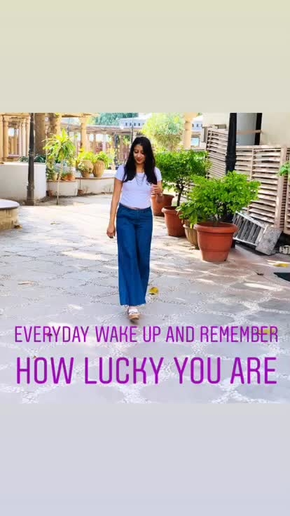 For more photos and videos click the link below https://youtu.be/ohKPWmxh6_k #confidence #positive-attitude #lucky #smile #live #laugh #beyourself #ropo-beauty #roposo-good #roposopicks