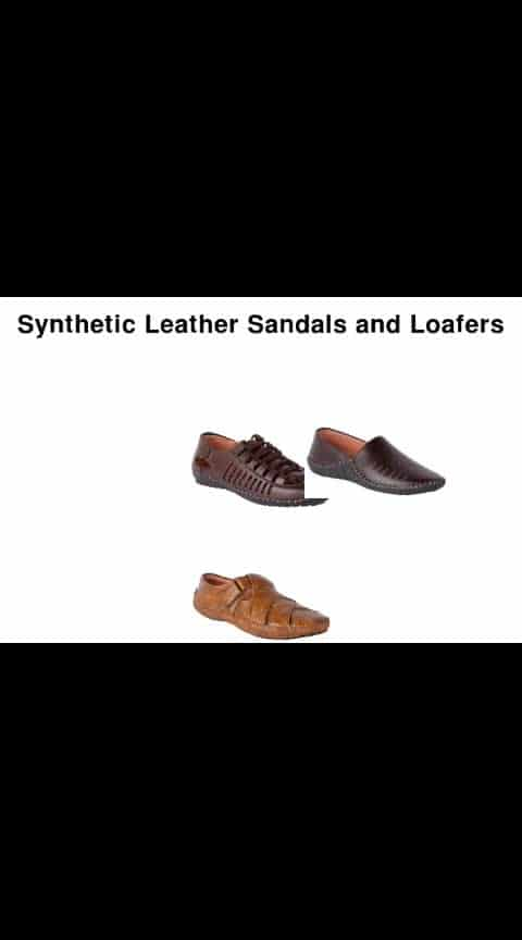 Synthetic Leather Sandals and Loafers - -#fashion #swag #style #stylish #photography #instapic #me #swagger #photooftheday #jacket #hair #pants #shirt #handsome #cool #polo #swagg #guy #boy #boys #man #model #tshirt #shoes #sneakers #styles #jeans #fresh #dope
