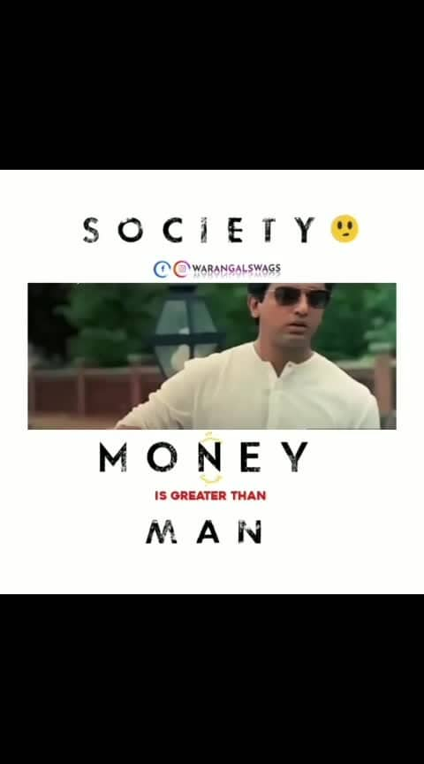 #society #money #character #cheap our society is like this