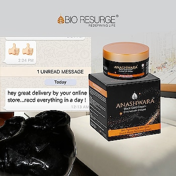 Testimonial Wednesday ! Happy clients, happy us 😊😊😊 Anashwara- one that cannot be destroyed! Our Shilajit face cream will remove all fine lines, wrinkles and signs of ageing. See results from the first application. Shop Now on : www.bioresurge.in | Amazon, Snapdeal, Flipkart, 1mg, Nykaa, Guardian pharmacy, Paytm, eBay. #bioresurge @amazon #chemicalfreeskincare #pure #naturalsmile #ayurveda #organic #life #fashion #lifestyle #love #smile #beauty #healthy #naturalskincare #Mumbai #Delhi #Chennai #Kolkata #UttarPradesh #ncr