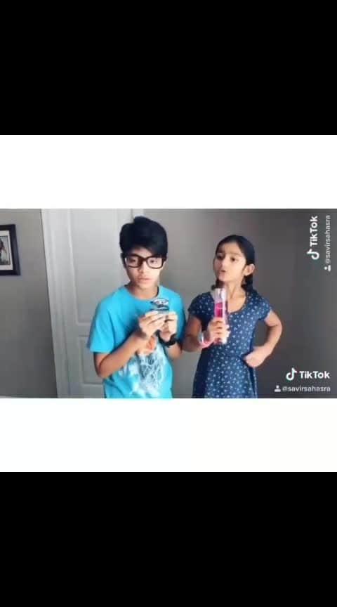 @savirchanda -  Hilarious comedy 😂🤣😁 Follow @savirchanda for more of our interesting videos . . . . . . . . .. . .. . . . . . . . . . . . #tiktok  #music  #dubsmash  #tiktokviral  #tiktokvideo  #tiktoktelugu  #tiktokindia  #tiktokhyderabad #musicallytelugu #dubsmashtelugu  #viralvideos #tiktokviral #telugucomedy #indiancomedy #savirchanda#musicallyteluguofficiall #talentkids #instaentertainment #telugudailogue #telugumuser #telugumuser2019 #1millionaudition #featureme #15svines #actingwars #college #students #savirsahasra#siblinglove #followers