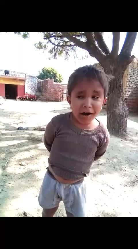 kisi ko pyaar nahi karna #haha-tv #roposo-funny-comedy #singsong #childhoodmemories #poorboy #happieness #smilyface #rosopostar #village #nawab