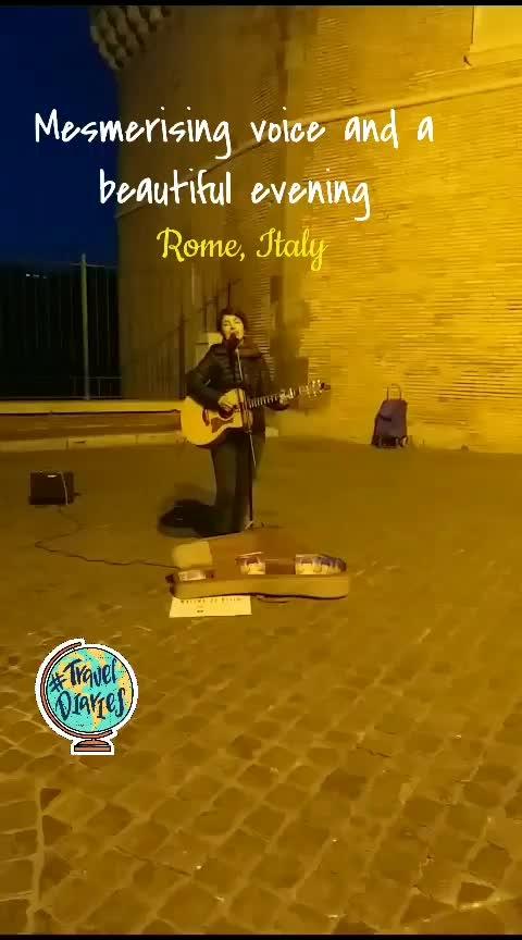 #musicofstreet #rome #italy #travel-diaries #musafirchannel #beatschannel