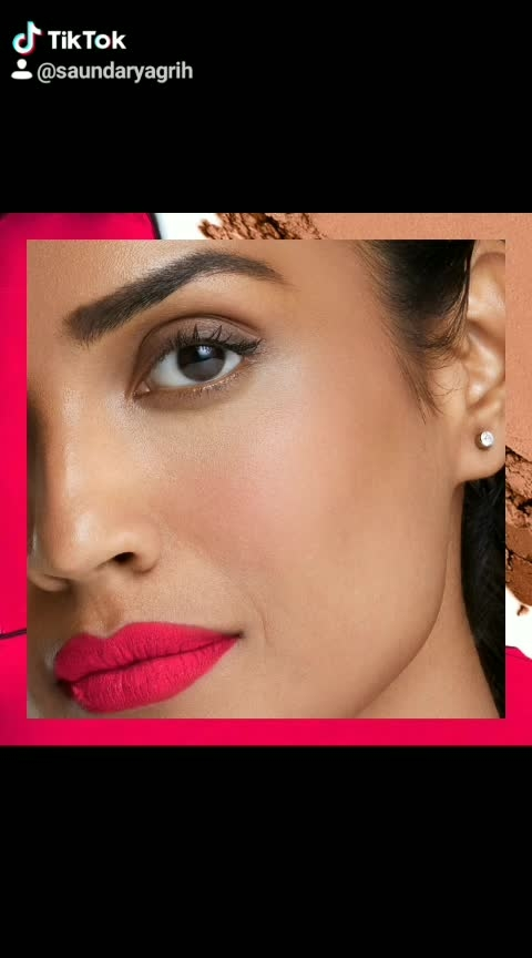 Take a tip from the runway and pucker your lips with a super saturated bold matte pink.  #Lakme #LakmeIndia #Beauty #Makeup #MakeupTips #Trends #Lakmetrends #BoldLip #PinkMatteLip #Lipstick #PrimerMatte