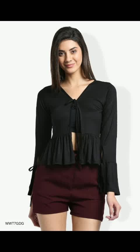 Latest Shrugs for Women  Fabric : Viscose  Sleeves : Sleeves Are Included  Bust/Chest Size (Inches) : S-34, M-36, L-38, XL-40  Type : Stitched  Work/Pattern : Solid  Description : Contains 1 Shrug  https://dreamjourney.wooplr.com/s/QZKjCriis?ref=cp.c.i.ic.a.en