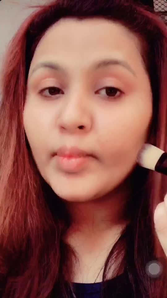 Make up tutorial for beginners💄❤️. #makeup#mua#makeuptutorial#tips#roposo#bbloger Follow me on instagram : naylakhateeb