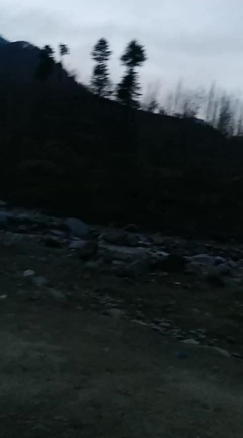 scene of twilight