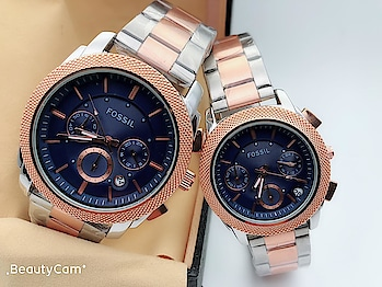 👆PRODUCT NAME : FOSSIL COUPLE WATCH👆 🔥 HOT IN STOCK 😘 😍 RESTOCK ON HIGH DEMAND 😘 ⚡️ FOSSIL COUPLE WATCH 🤘 AVAILABLE COLOR : 3 AS IN PIC ⭐️ QUALITY : FIRST ⌚️ BELT : CHAIN ⌚️ ALL CHRONO WORKING, DATE WORKING 😘 NEW LOOK 💰 PRICE : 3550/- ONLY (SINGLE PAIR) ✅ COD AVAILABLE (100RS EXTRA, WHICH IS ADVANCE) ✈️ SHIPPING FREE ON PREPAID ORDER (ALL OVER INDIA) ✅ EASY PAYMENT THROUGH TEZ, PHONEPAY, PAYTM, UPI, BANK TRANSFER, PAYPAL✈️ SHIPPING ALL OVER WORLD (CHARGES EXTRA) 🚧  L I M I T E D  I N  S T O C K   FOR ORDER OR INQUIRY DM👇  or #whatsapp📲 9016711363  #shoponline #onlineshopping #couplewatch #fashionproducts #buyonline #deliveryfree #codavailable