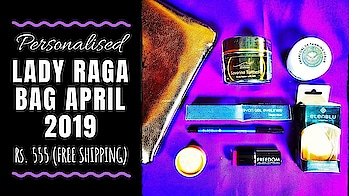 Lady Raga April 2019 @555 | CHOOSE 2 PRODUCTS | Unboxing & Review  I loved the April 2019 Lady Raga edition coz we have choice of 2 products apart from the 4 awesome products and a pretty pouch! I liked all products included this month and its definitely a great value for money option at an affordable price tag of Rs. 555 only! There are many great options to choose from, so everyone is gonna love this edition! . . . Check out the unboxing and review video on my YouTube channel to know more. Link in bio! 💕 . . . To Order : https://www.ladyraga.com/ Price - Rs. 555(Free Shipping) . . . . #ladyragabag #ladyragaindia #april #2019 #choose #personalised #organic #bodycare #essentials #skincare #makeup #beautysubscription   #monthlysubscription #unboxingandreview  #subscriptionreviews #honestreviews #subscriptionboxindia #subscriptionboxreview #youtuber #sonammahapatra #sonameraki