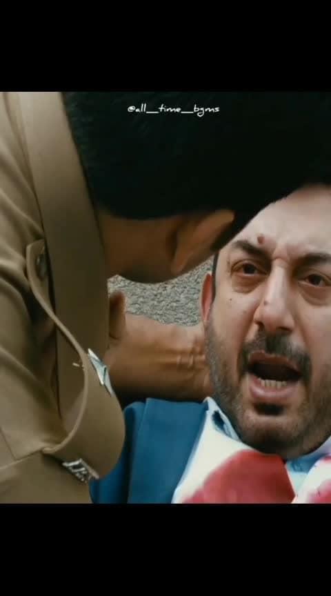 #jayamravi #aravindswamy #thanioruvan #climax #massscene