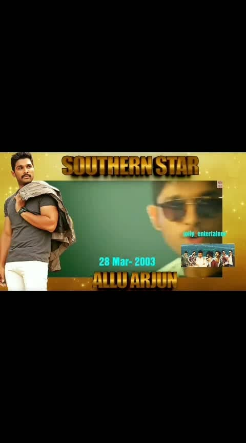 """16 years For """"Stylish star-అల్లు అర్జున్"""" గారు in """" TFI""""....congratulations sir...all the best for your upcoming movies...#alluarjun #megafamily #tollywoodactors #tollywoodhero #tollywoodnews #tollywood #telugumovielovers #southernactor #movielovers #teluguedits"""