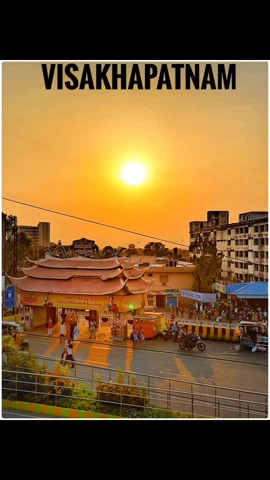 "VIZAG...""City of Destiny""😍🌅 #vizag #visakhapatnam #captured #cityofdestiny #cityofdestiny-vizag"