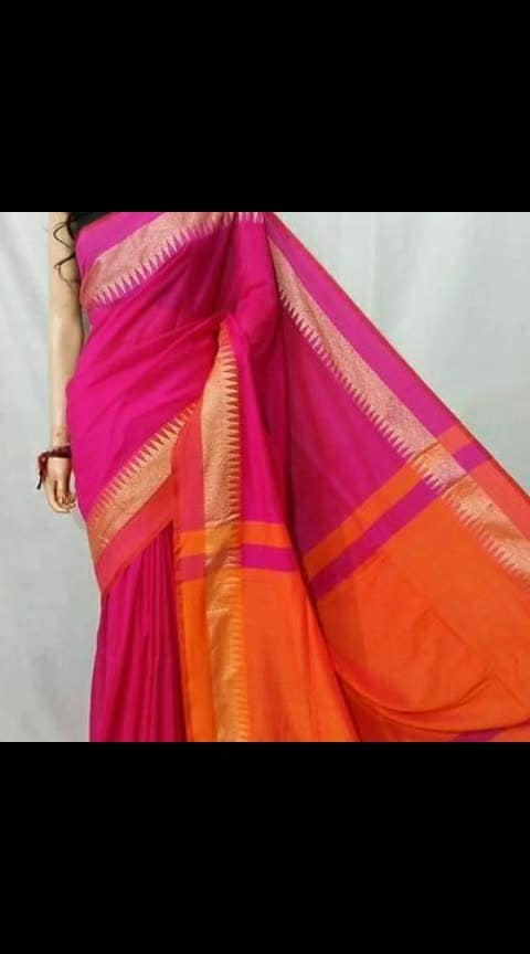 #love for sarees #Sameera Desginers #Handloom Woven Design Khadi Sarees with Blouse  *Fabric*: Khadi  *Style*: Woven Design  *Design Type*: Phulia  *Saree Length*: 5.5 (in metres)  *Blouse Length*: 1.0 (in metres)  *Free  shipping & Easy Returns....cod available  *Delivery*: Within 6-8 business days    Price:936/-  https://myshopprime.com/collections/27143255