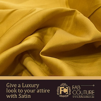 Give a Luxury look to your attire with #Satin For shopping visit us : www.fabcouture.in  #FabCouture! #DesignerFabric #AffordablePrices #DesignerDresses #Fabric #Fashion #DesignerWear #ModernWomen #DesiLook #Embroidered #WeddingFashion #EthnicAttire #WesternLook #affordablefashion #GreatDesignsStartwithGreatFabrics #LightnBrightColors #StandApartfromtheCrowd #EmbroideredFabrics