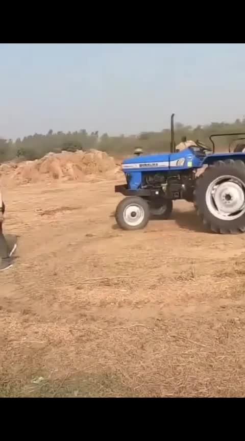 #tractor #stunts #driverless