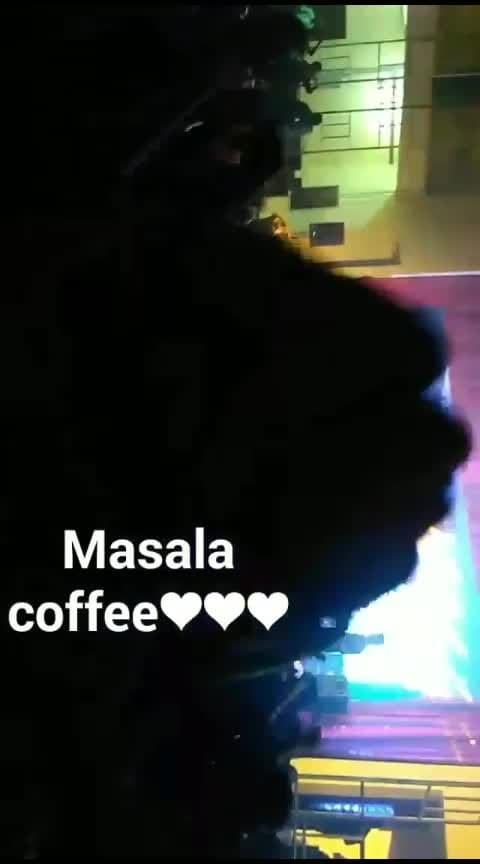 Masala coffee ❤️ #masalacoffeeband #thuglife #jagadeesh