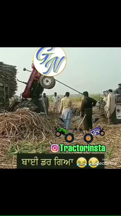 #tractor #stunt #car #model #punjabi #punjabi-gabru #funny #comdey #fun #jokes