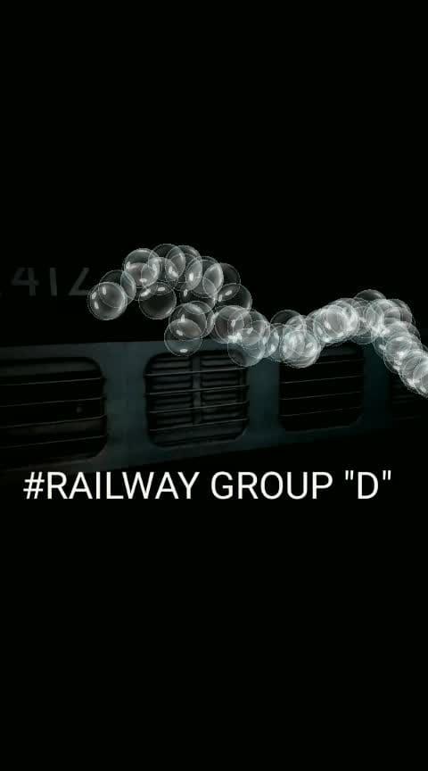 अम्मी जान कहती हैं कोई काम छोटा नही होता... #railway group D job