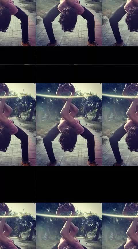 #dance #Roposo #poses #bonebreaking