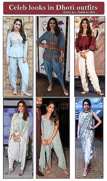 Celeb looks in Dhoti outfits!  https://bit.ly/2FdxZkv  #9rasa #colors #studiorasa #ethnicwear #ethniclook #fusionfashion #online #fashion #like #comment #share #followus #like4like #likeforcomment #like4comment #newarrivals #ss19collection #ss19 #celebritylook #dhoti #dhotipants #dhotioutfit
