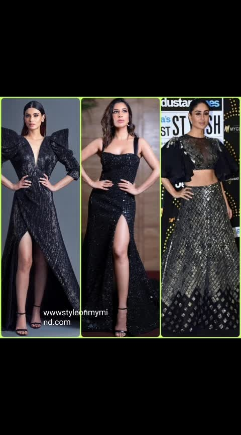 💜 STYLEONMYMIND 💜 The black gown brigade at #htmoststylishawards2019  . #evening-gown #gownstyle #gown #couture #couturecollection #fashionlover #roposo-fashion #fashioninfluencers #trendy #trend-alert #be-in-trend #roposo-trending #glamour #glamourouslooks #glamourandstyle #bloggersofindia #fashionbloggerindia #roposo-styl #styling #roposo-styles #women-style #kareenakapoorkhan #richachadha #sanyamalhotra