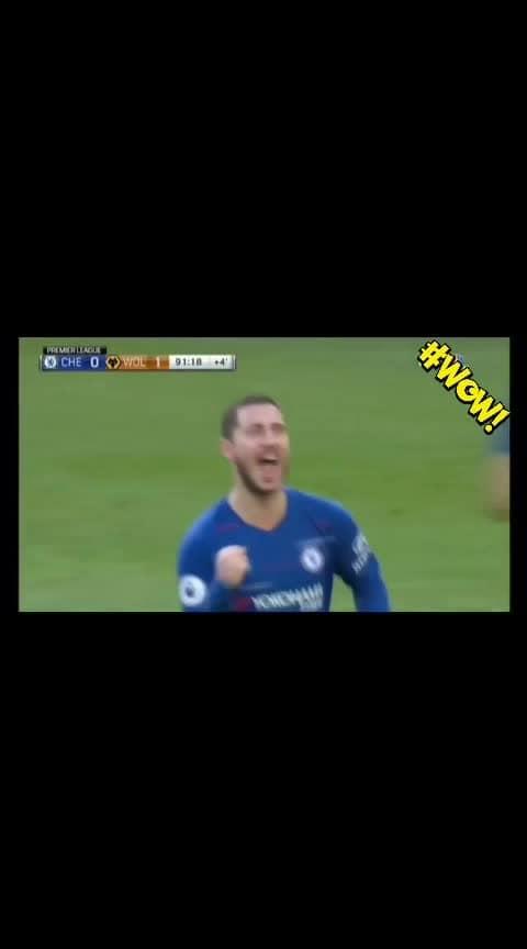 What a Finish !! @Edenhazard   #football #sportstv #soccer #cr7 #messi #love #roposo-wow
