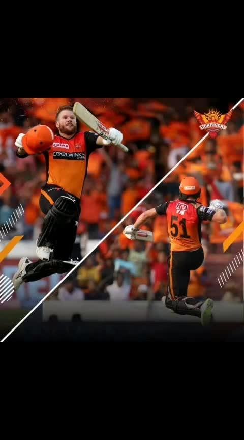 #orange_army  #warner_is_back  #cheering for sunrisers hyderabad - srh #orange_army  sunrisers hyderabad vs gujarat loins   biryani