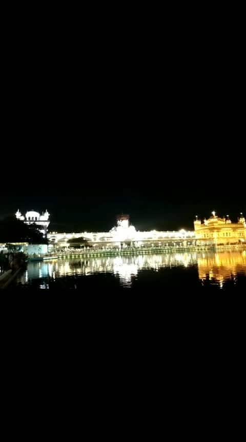 #Amritsar golden temple😌😇