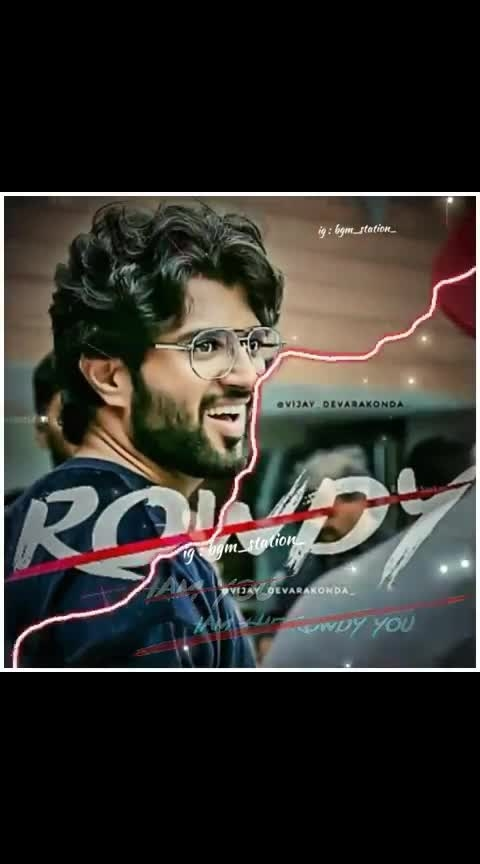 #rowdy #rowdyrockstar #vijaydevarakondafc #vijayadevarakonda