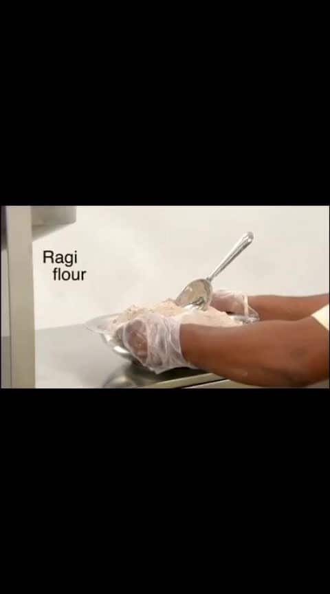 machine ragi ball #amaing #healthychoices